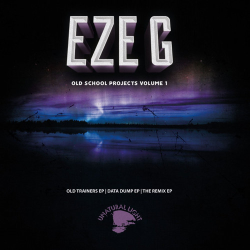 "Eze G - Old School Projects Volume 1 - 3x12"" LP"