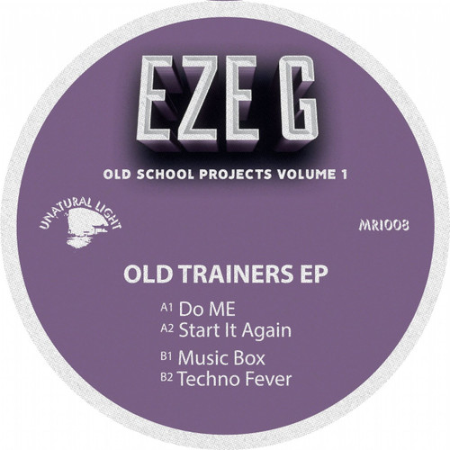"Eze G - Old Trainers EP - 12"" Vinyl"