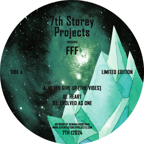 "FFF - Never Give Up - 12"" Vinyl"