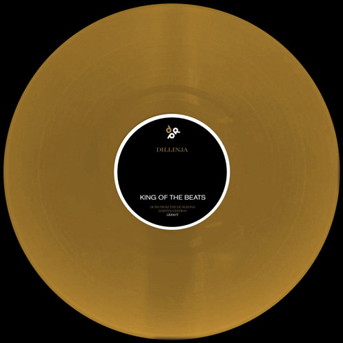 """Dillinja - You / King of the beats - Dubs from the Dungeons  - 12"""" Gold Vinyl"""