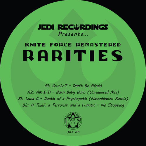 "Kniteforce Rarities - Kniteforce Remastered - 12"" Vinyl"