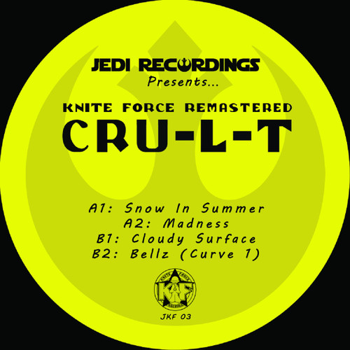 "Cru​-​l​-​t Vol. 1 - Kniteforce Remastered - 12"" Vinyl"