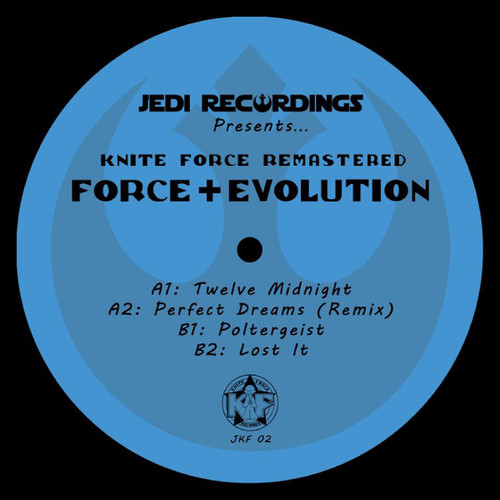 "Force & Evolution - Kniteforce Remastered - 12"" Vinyl"