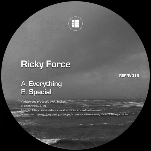 """Ricky Force - Everything/Special - Repertoire - 12"""" Vinyl"""