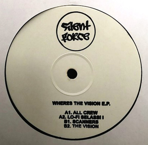 """Various Artists - Where's The Vision EP - 12"""" Vinyl"""
