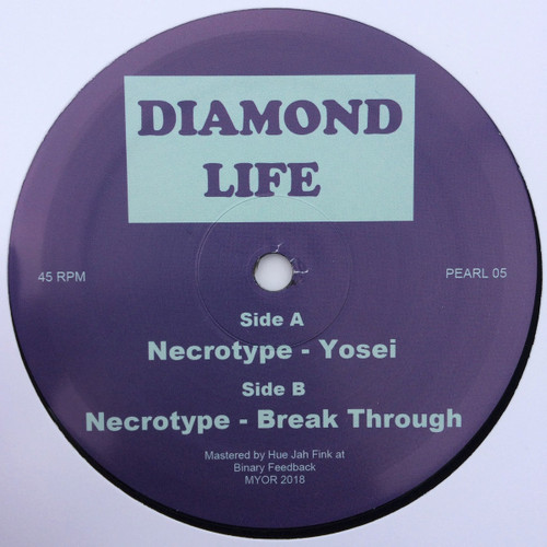 "Necrotype - Yosei/Break Through - Diamond Life 12"" Vinyl"