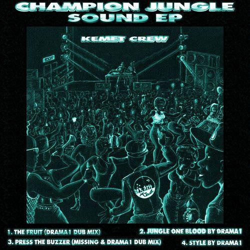 "Kemet Crew - Champion Jungle Sound EP - 12"" Vinyl"