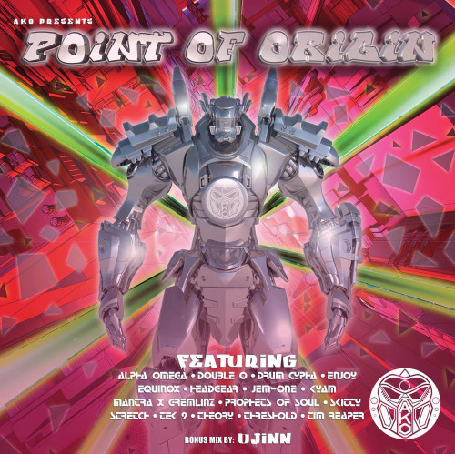 "Various - AKO Beatz - Point of Origin (4 x 12"")"