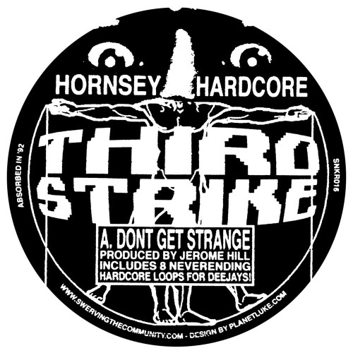 "Hornsey Hardcore - Don't Get Strange / The Wiz (w/ Locked Grooves) - 12"" Vinyl"