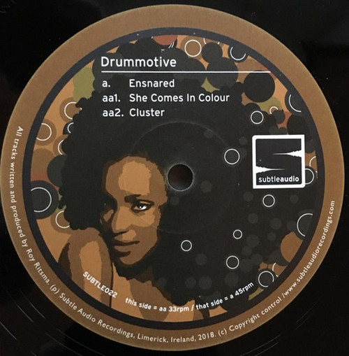 "Drummotive - Ensnared - 12"" Vinyl"