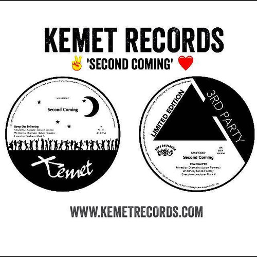 """Dramatic / Noise Factory - Second Coming - 12"""" Vinyl"""