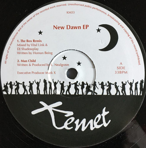 DJ Shadowplay / Vital Link – New Dawn EP