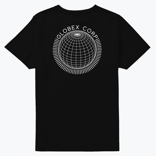 Globex Corp T-Shirt - Black - Large