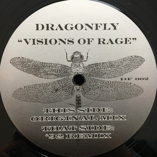 "Dragonfly - Visions Of Rage - 12"" Vinyl"