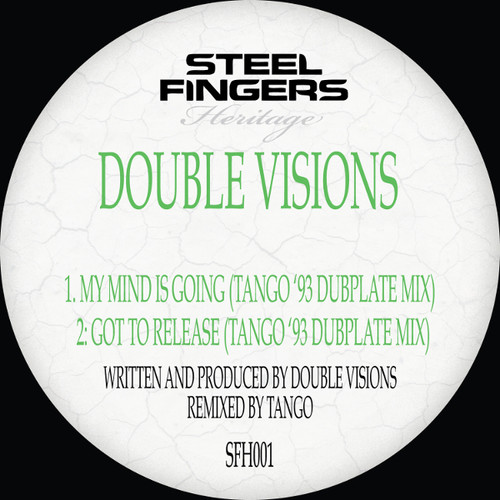 "Double Visions - '93 Dubplate Mixes - 12"" Vinyl"