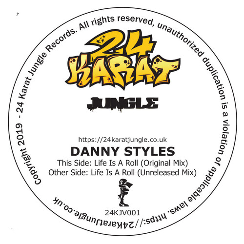 """Danny Styles - Life Is A Roll - 12"""" Vinyl"""