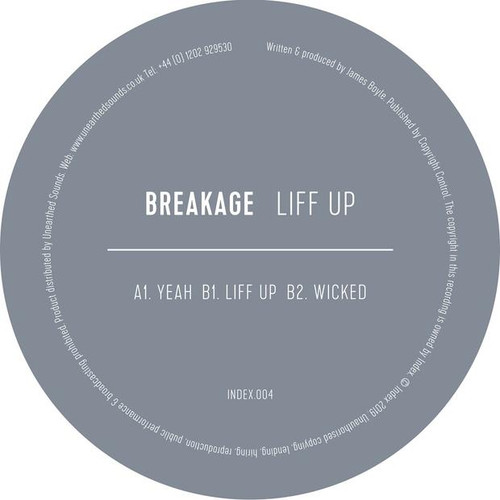"Breakage - Liff Up - 12"" Vinyl"