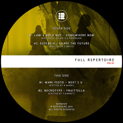 "Various - Full Repertoire Volume 2 - 12"" Vinyl"