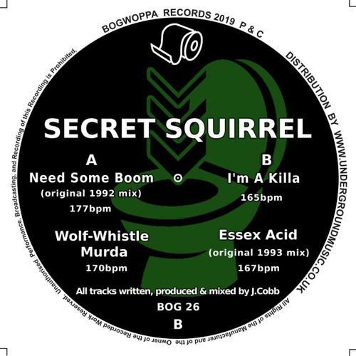 "Secret Squirrel - Need Some Boom - 12"" Vinyl"