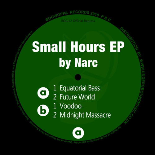 "Narc - Small Hours EP - 12"" Vinyl"