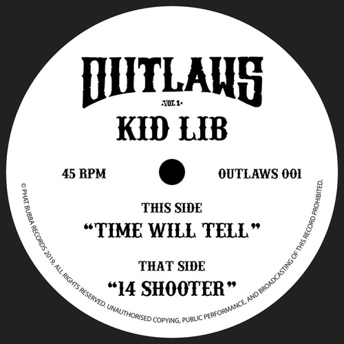 "Kid Lib - Outlaws 001 - 12"" Vinyl"