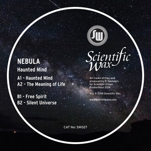 "SW 027 - Nebula -  Haunted Mind EP - 12"" Vinyl"