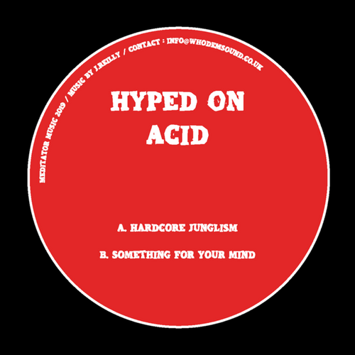 """Hyped On Acid - Hardcore Junglism / Something For Your Mind - 12"""" Vinyl"""