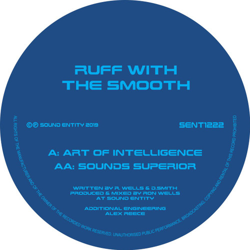 "Ruff With The Smooth - Art Of Intelligence / Sounds Superior - 12"" Vinyl"