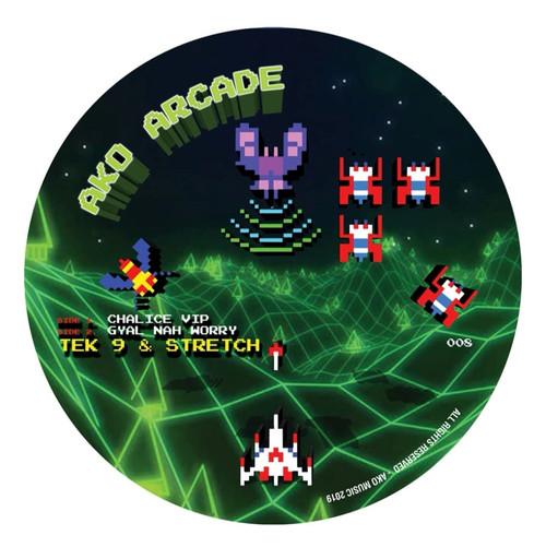 Tek9 & Stretch - Chalice VIP // Gyal Nah Worry [Picture Disc]