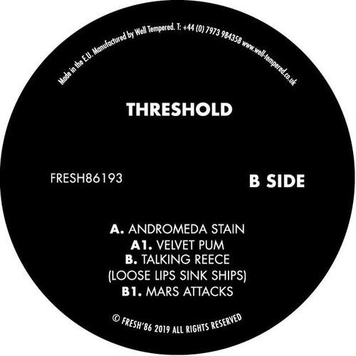 "Threshold - Andromeda Stain - 12"" Vinyl"