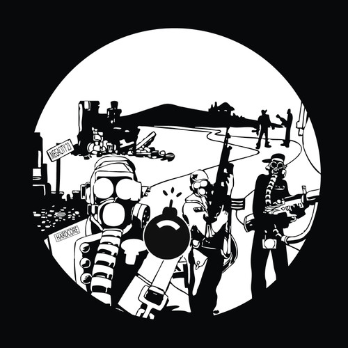 "The Criminal Minds - Old School Soldier (Spatts 24 Hour Ruffneck Mix) / Drums Of Doom - 12"" Vinyl"