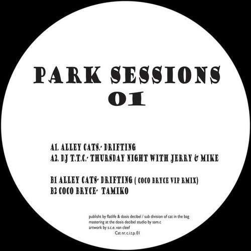 "Park Sessions 01 - Alley Cats / DJ T.T.C / Coco Bryce - 12"" Vinyl"