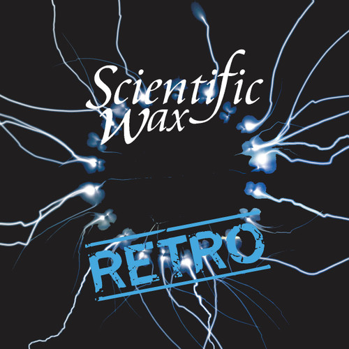 "SCIENTIFIC WAX RETRO 010 - Nebula - Midi Rhodes EP - 12"" Transparent Blue Vinyl"