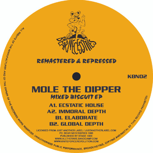 """Mole The Dipper – Mixed Biscuit EP - 12"""" Vinyl"""