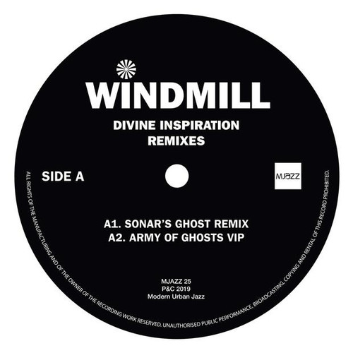 "Windmill - Divine Inspiration Remixes / Enchantment - 12"" Vinyl"
