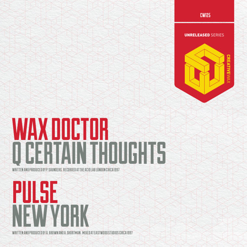 "Wax Doctor & Pulse - Q-Certain Thoughts / New York - 12"" Vinyl"