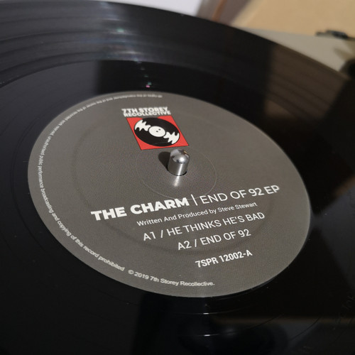 "The Charm - End Of '92 EP - Previously Unreleased 1992/1993 - 12"" Vinyl"