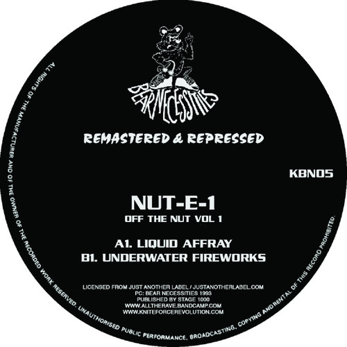 "Nut-E-1 - Off The Nut Vol​.​1 EP - 12"" Vinyl"