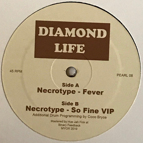 "Necrotype - Diamond Life 08 - 12"" Vinyl"