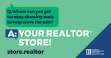 Your New REALTOR® Store is Here