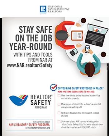 REALTOR® Safety Program Poster-Download