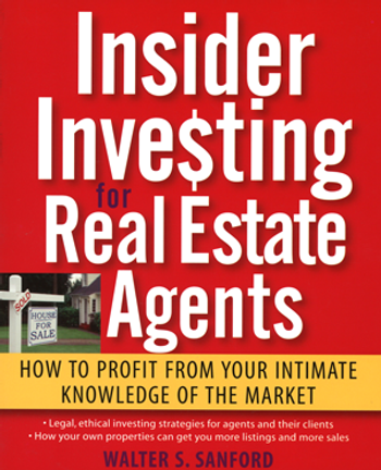 Insider Investing for Real Estate Agents