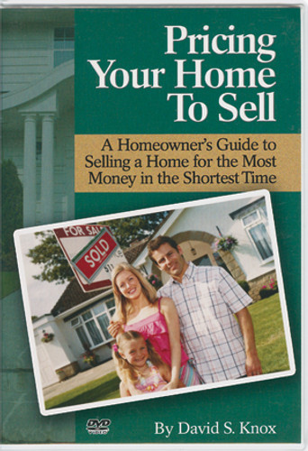 Pricing Your Home to Sell DVD (by David Knox)