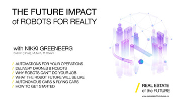 The Future Impact of Robots for Realty Webinar