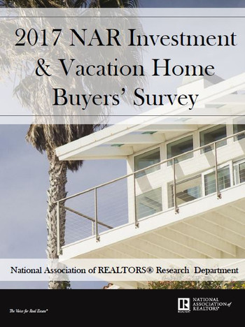 2017 NAR Investment and Vacation Home Buyers Survey (Download)