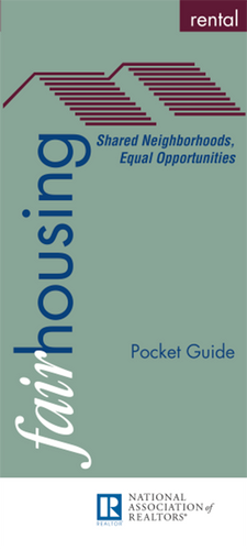 Fair Housing Rental: Pocket Guide (Digital Download)