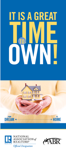 It's a Great Time to OWN! Brochure