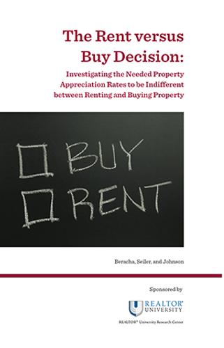 The Rent versus Buy Decision