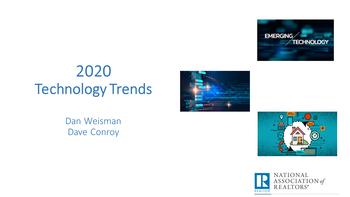 2020 Technology Trends Webinar