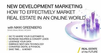 New Development Marketing Webinar